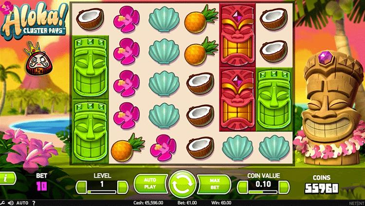 aloha! cluster ゲームシンボル