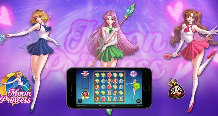 moon princess オンラインスロットマシン